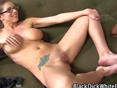 White footjob babe love to please the dudes pecker