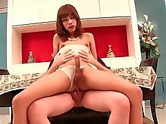 Teen ladyboy loving long swagger