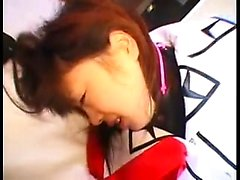 Pretty Asian schoolgirl takes every hard inch of dick at ev