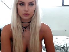 Stunning Hot Blonde Perfect Body On Webcam