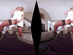 Big Ass Hottie Brooke Wylde Reiten Schwanz Cowgirl Stil VR