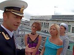 Amiralen Rocco Siffredi och flickorna