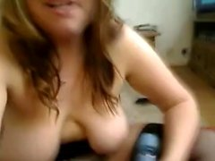 Chubby Chick With Saggy Tits Bates on Cam