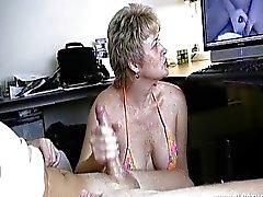 Watching Porn Handjob