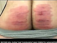 Reformatory Caning--Maximum Punishment