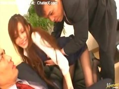 3x-online Sexy Asian babe Ameri Ichinose takes part in wild gangbang free Part1