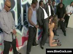 Bukkake party - Sexy sluts facial cumshot and interracial porn 21