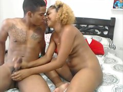 Big Boobs Ebony Fucked In Dirty Hairy Pussy