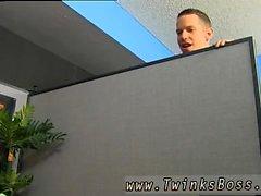 Gay Twink gierigen Arsch movietures Bryan Slater gefangen Jerking