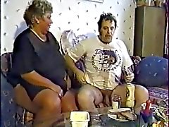 german granny with grey hair fucked outdoor by a men part 2