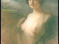 Desnuda en el artículo