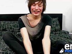 Jesse Andrews ist immer noch ein frisch Wichser whos schüchtern, wenn nackt