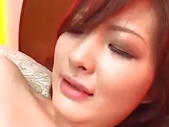 Asian Girl Getting Her Nipples Sucked Shaved Pussy Fingered Sucking Cock On The Bed In The Bedroom