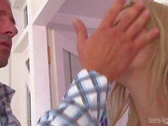 Blonde Shasha Rose Get Banged