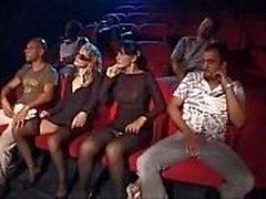Suruba Não Cinema Pornô sexo no cinema
