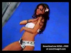 Crissy Moran la vidéo making sexy de la