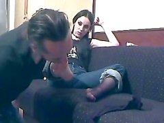 Bojana on the couch