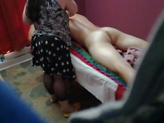Dick massage (no cum)