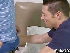 Ari Sylvio and Girth Brooks have gay sex
