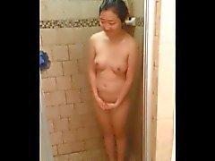 Ben bu Korece Girl 2 seviyorum - bir duş