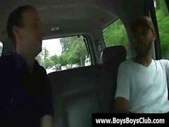 Schwarze Homosexuell Jungen zu demütigen white Burschen schwer zwölf