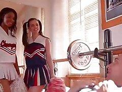 DDF Network - Nekane sekä Jasmine Webbin Fitness nai Koulutyttö asut