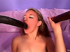 She was down for the brown sugar but never dreamed of getting corked by these black monsters! Dirty whore Jade took the brothas third arms like a champ as they screwhumped that tight ass! Watch the brothas shoot some cock coffee on her pretty mug in this