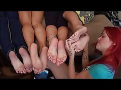 Lesbian Foot Worhshipping Compilation