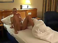 Beautiful blonde fucked