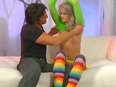 Jessa Rhodes Gets Fucked In Her Striped Socks