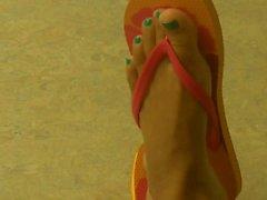 Waiting Room Feet