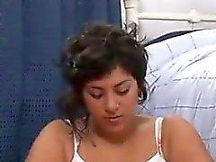 Fat Latin Girl Masturbating