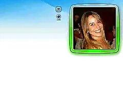 Michelle Loira Gata na CAM MSN do