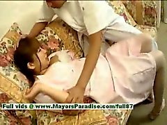 Myuu Hasegawa onschuldige mooie chinees meisje krijgt geplaagd