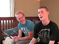 Garçon a été gaies vidéo porno de Chris a apporté Faucheur avec lui