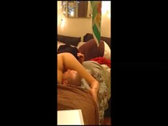 20 year old couple fucks on hidden cam