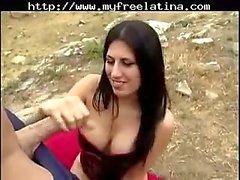 Makayla Coxx Sexy Handjob