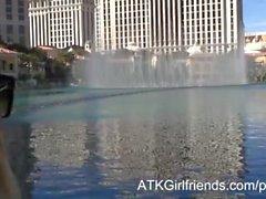 Dich gewähren Aaliyah Liebe einer Creampie im einem POV Vegas Virtual Date