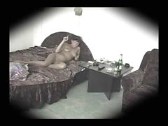 Hidden camera in the bedroom