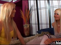 Hot stepsisters like to have fun