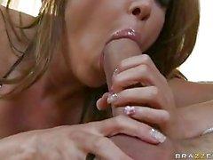 Big boobed Kianna Dior loves the massive cock sliding between her gigantic tits