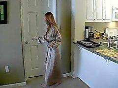 Seksi olgun amatör bir bir ev kadını aldatılan sevmek