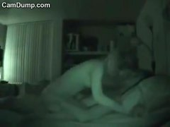 Hidden cam caught amateur teen slut getting some hard dick