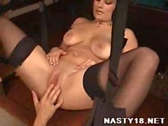 Amateur Couple Fucking Using A Sex Swing - Pro-AM nasty18