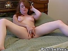 Horny Naked Ex Girlfriend Caught Masturbating