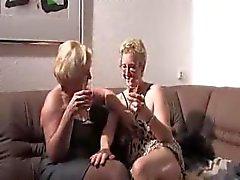 Älteres German Lesbisch