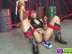 Honoka Kuriyama serious toy porn in group action