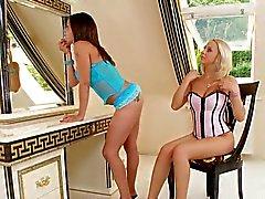 Blond-Brunette Bliss238