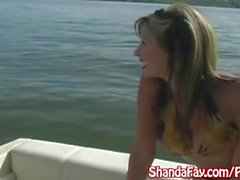 Kinky kanadalainen Milf Shanda Fay Gets Analyyttisesti Creampie vene !