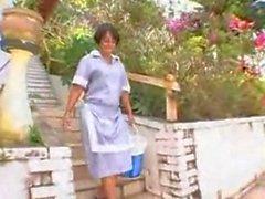 Big Ass Latin Maid